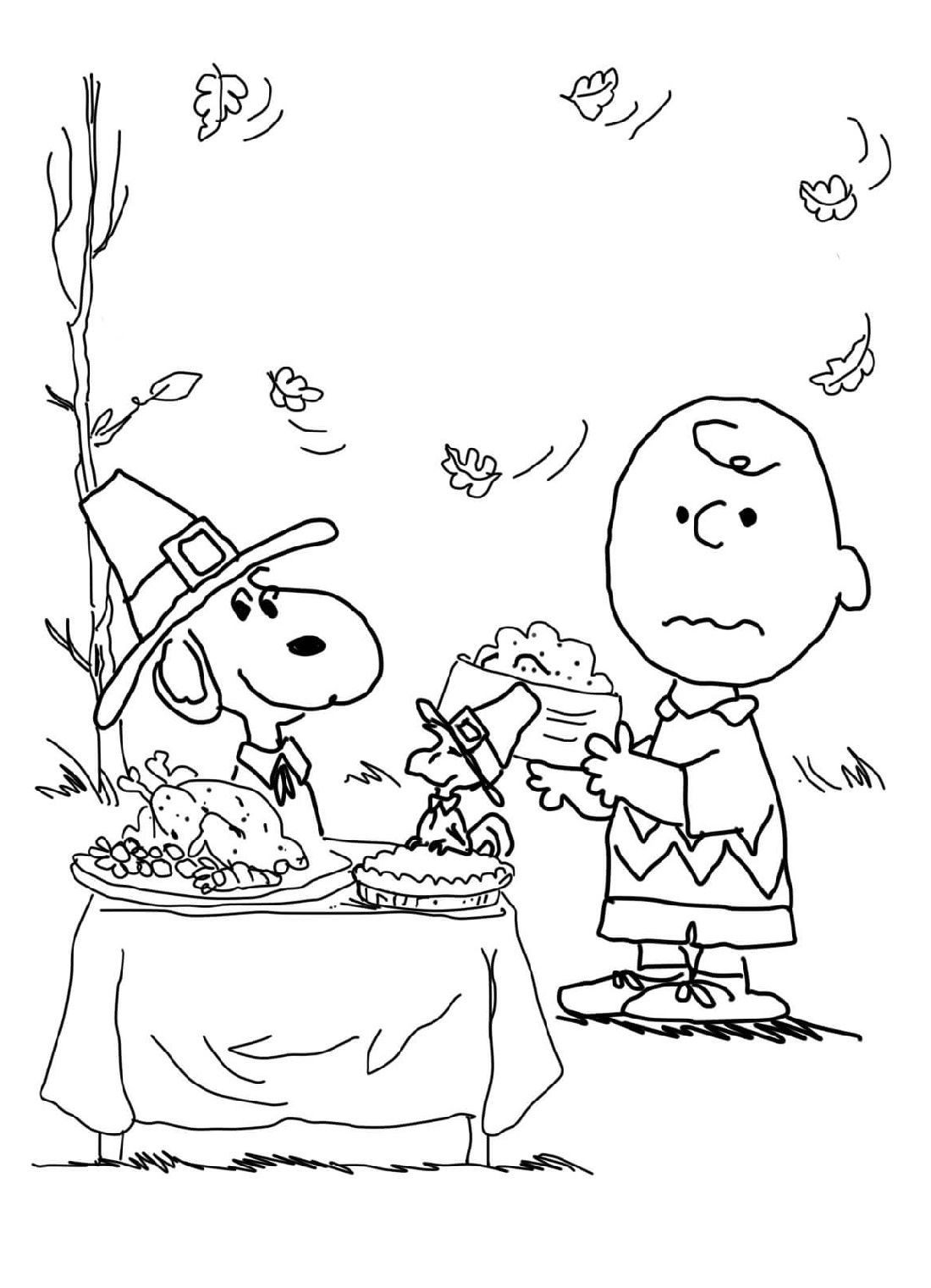 Printable Thanksgiving Coloring Pages With Images