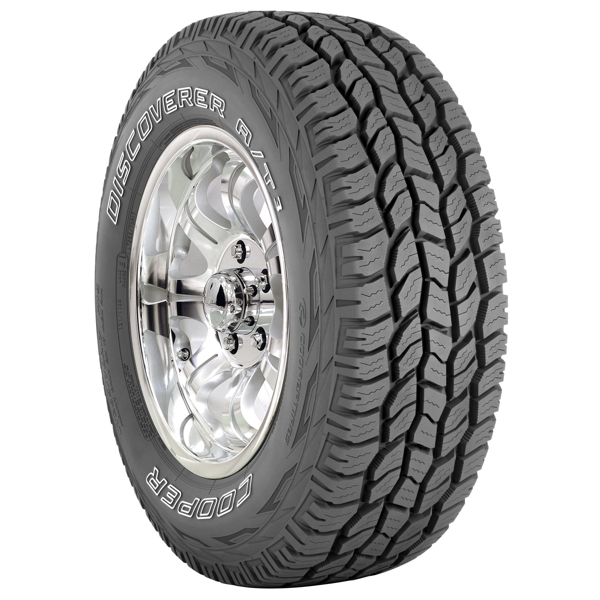 Cooper S Discoverer A T3 265 70r17 115t Tire Is All Traction All Terrain All The Time Cooper Discoverer Cooper Tires Automotive Tires