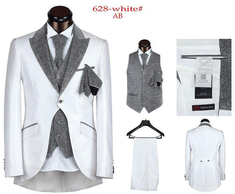 Men\'s 5 pieces Tailcoat high quality Men\'s Dress Suits,Charming ...