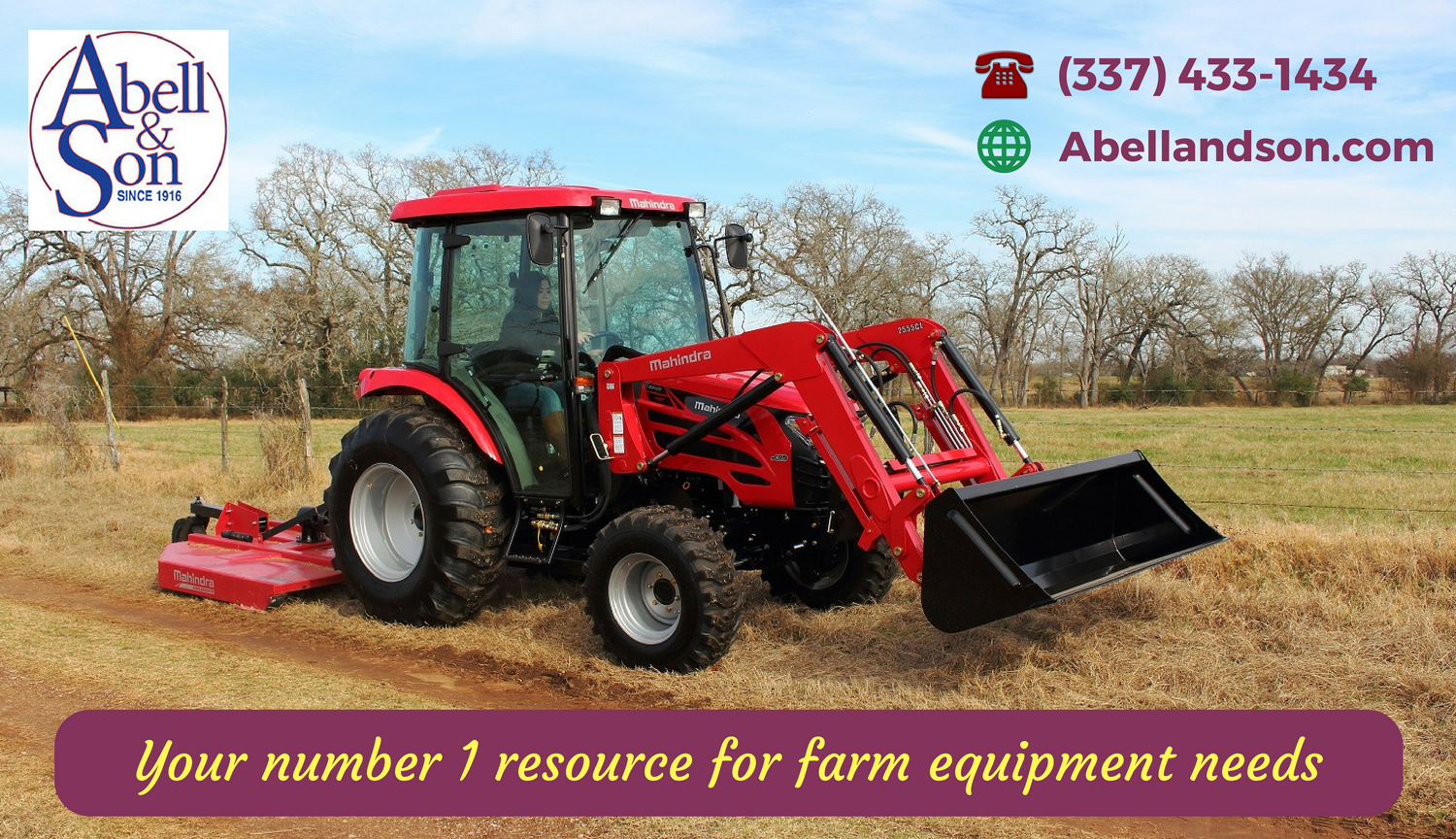 Are You Looking To Best Farm Equipment Abell Amp Son Have A