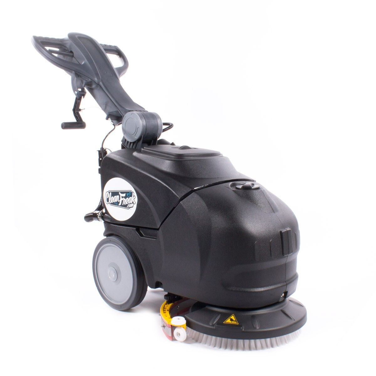 Low priced compact electric or battery auto scrubber!