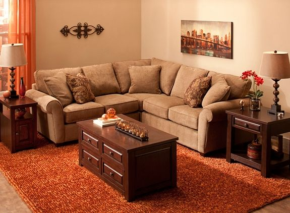 Chenille Sectional Sofa | Sectional Sofas | Raymour and Flanigan Furniture : chenille sectional sofas - Sectionals, Sofas & Couches