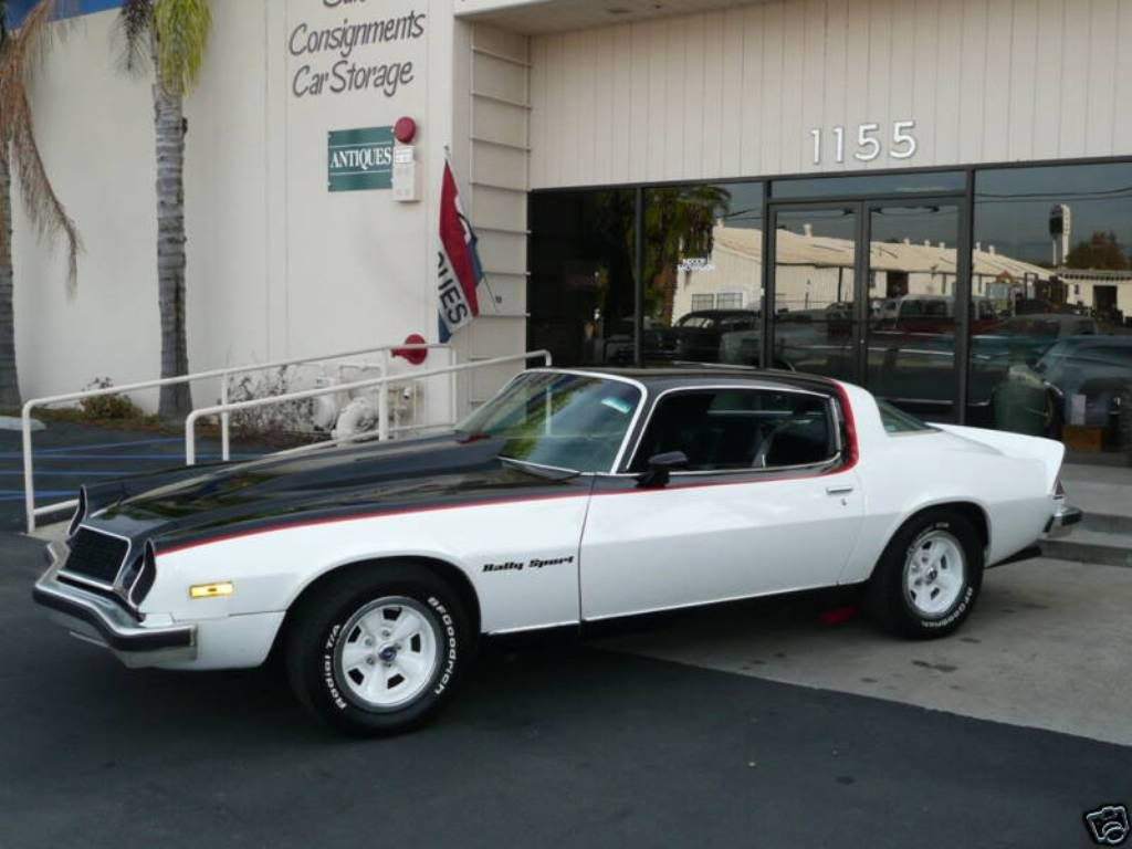 1976 or 77 Camaro Rally Sport with the for-1975-only Z86 Gymkhana ...