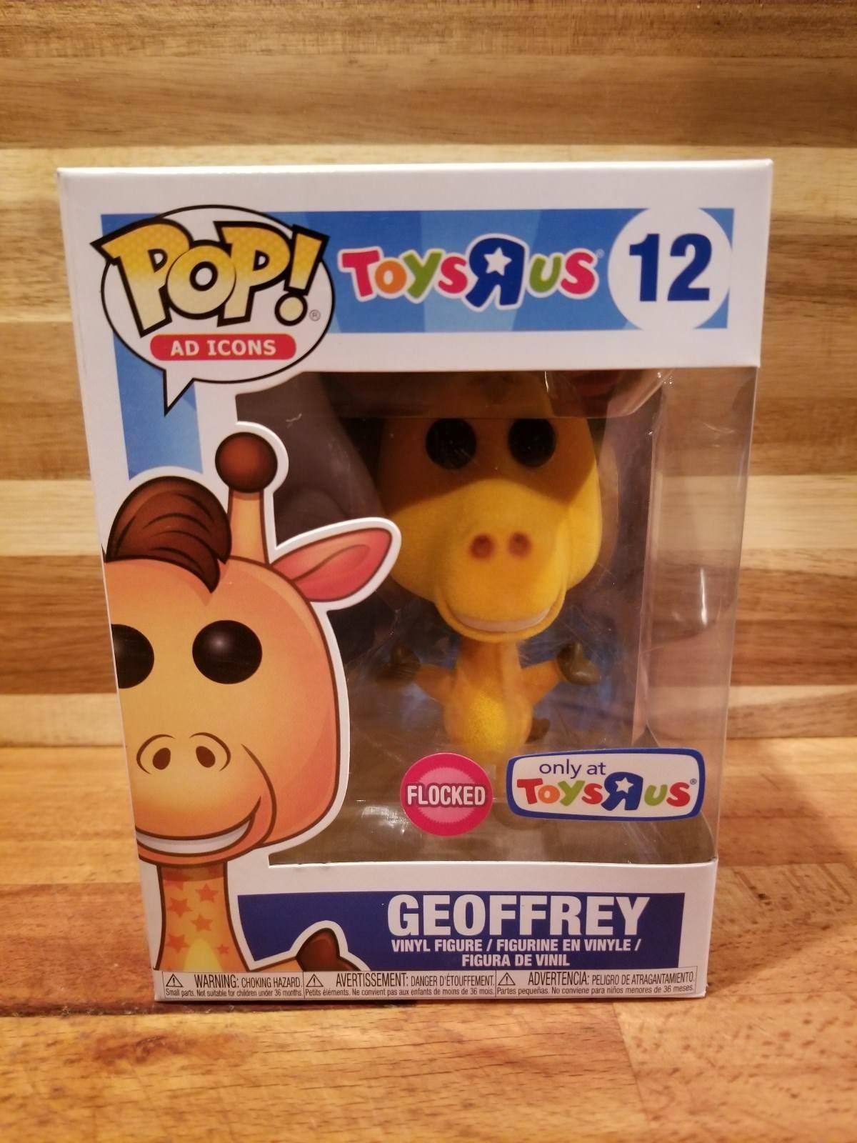 "IN HAND Funko POP! AD ICONS FLOCKED GEOFFREY 12 Toys""R"