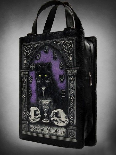 Restyle // Restyle Book Of Shadows Book Bag | Crafts | Pinterest ...