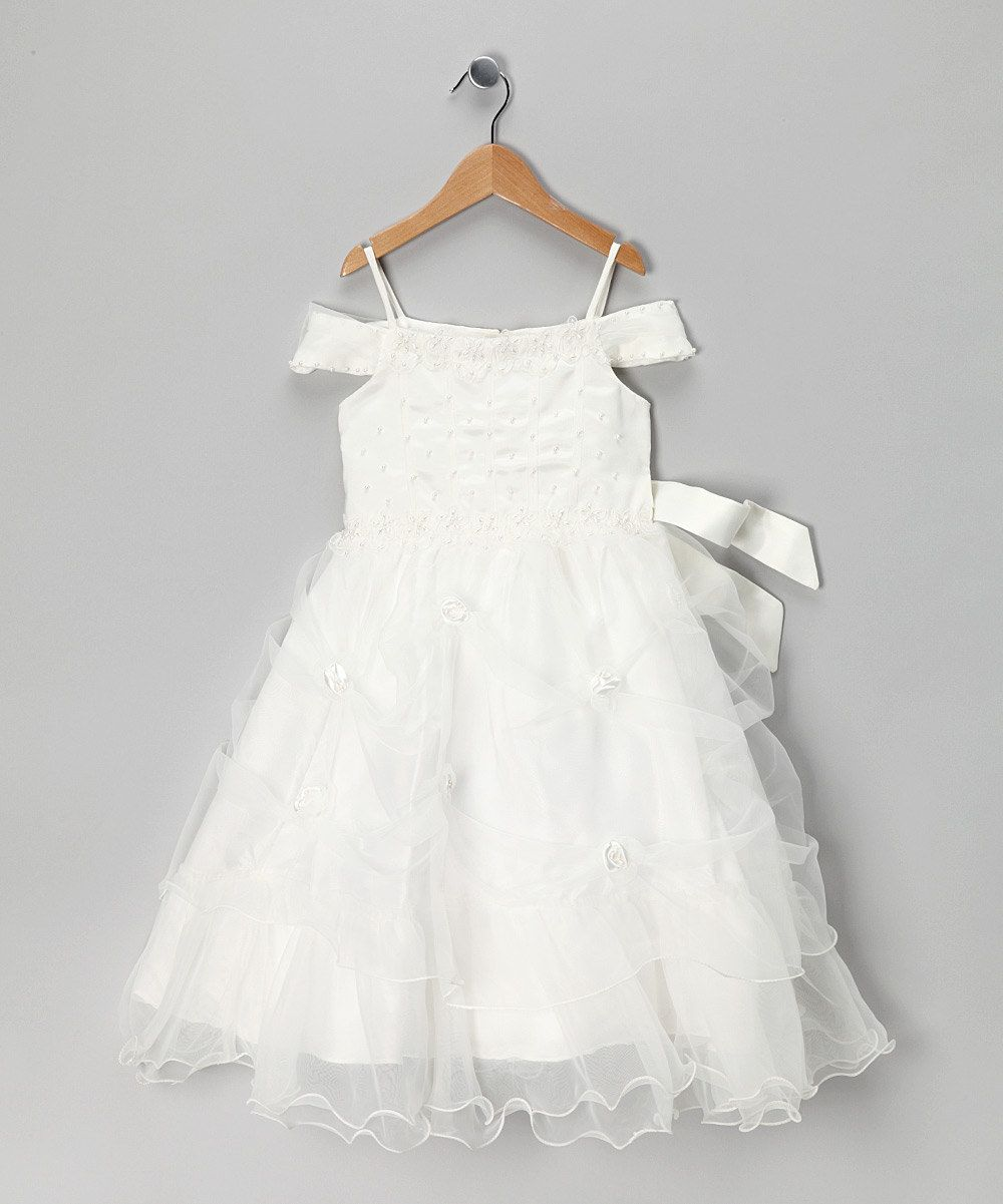 11cfe98ab3d This would make such a cute flower girl dress for a wedding