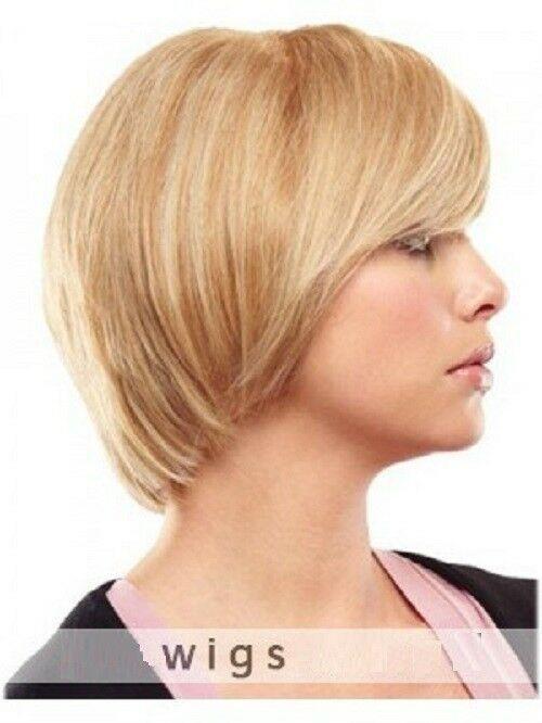 wie man bestellt am besten bewertet neuesten Heiß-Verkauf am neuesten Wie Echthaar High-End wig Damen Mittel Gelockt Blond Urbaner ...
