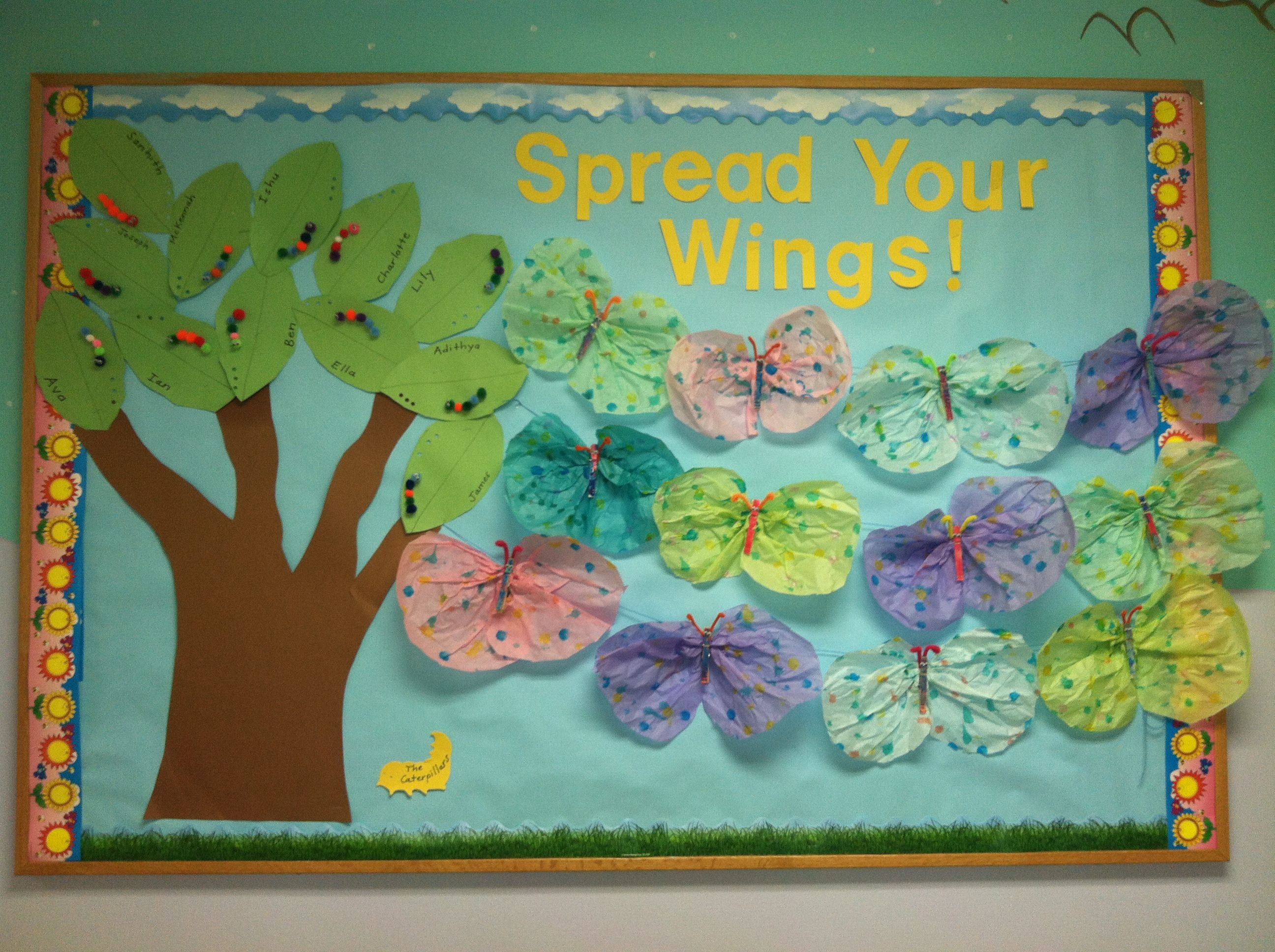 Go green vegetable bulletin board idea myclassroomideas com - Free Spring Bulletin Board For Kindergarten And Toddlers Spring Classroom Door Idea For Kids Spring Classroom Door Decoration Idea