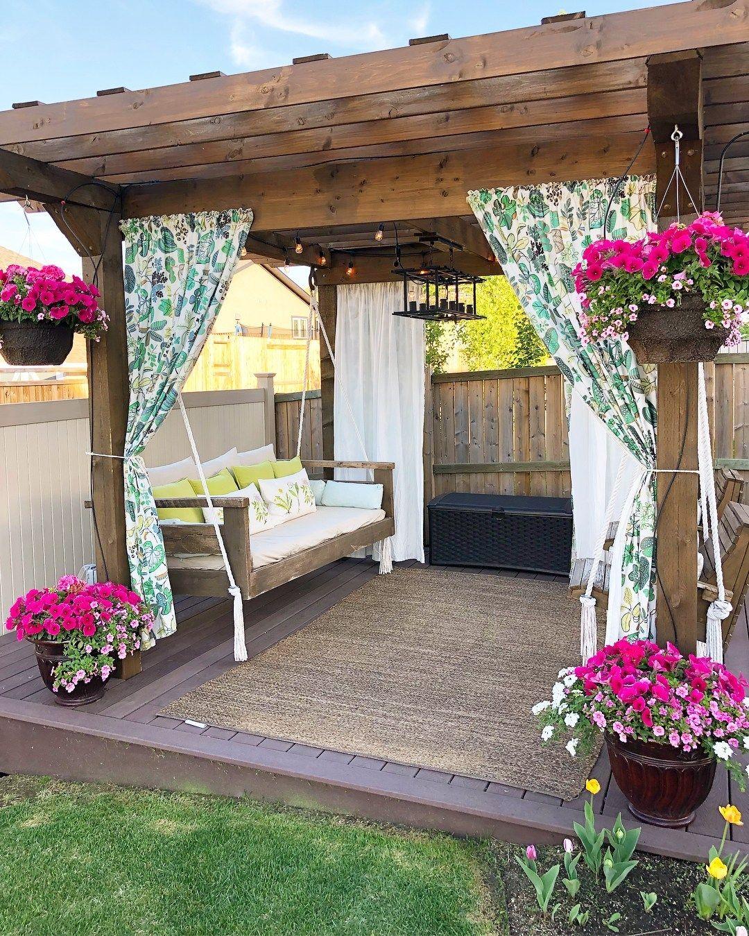 24 Cheap Backyard Makeover Ideas You'll Love | Backyard ... on Diy Backyard Patio Cheap  id=52942