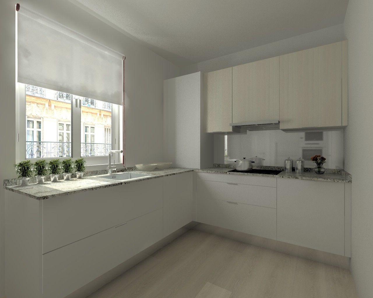 Nuestro ltimo proyecto de cocinas santos modelo ariane for Ultimos modelos de cocinas