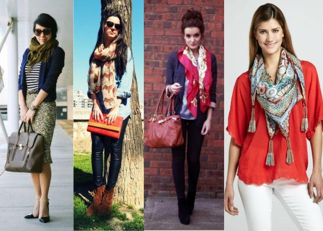 FEMINA - Modéstia e elegância: Spring/summer trend: lenço