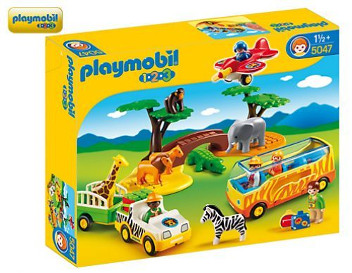 Playmobil 5047 123 Large African Safari King Arthur S