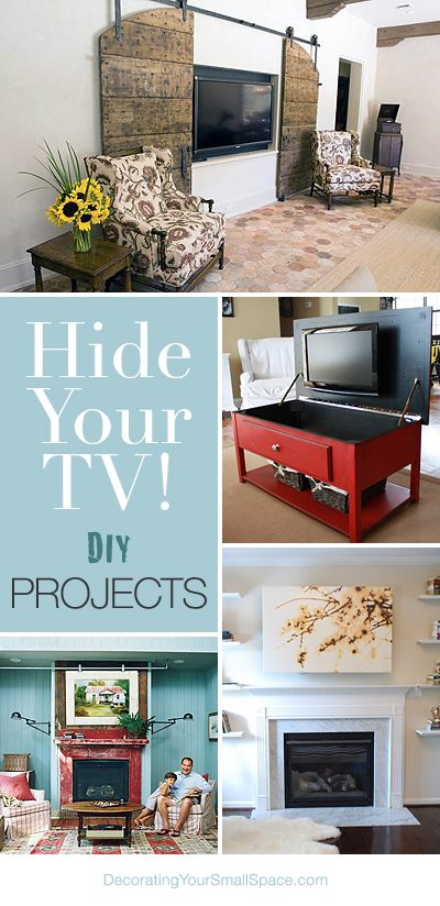 Hide Your Tv Diy Projects Ohmeohmy Blog Home Decor Home Home Deco