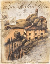 RB5199MC <br> Tuscan Postcard II <br> 11x14