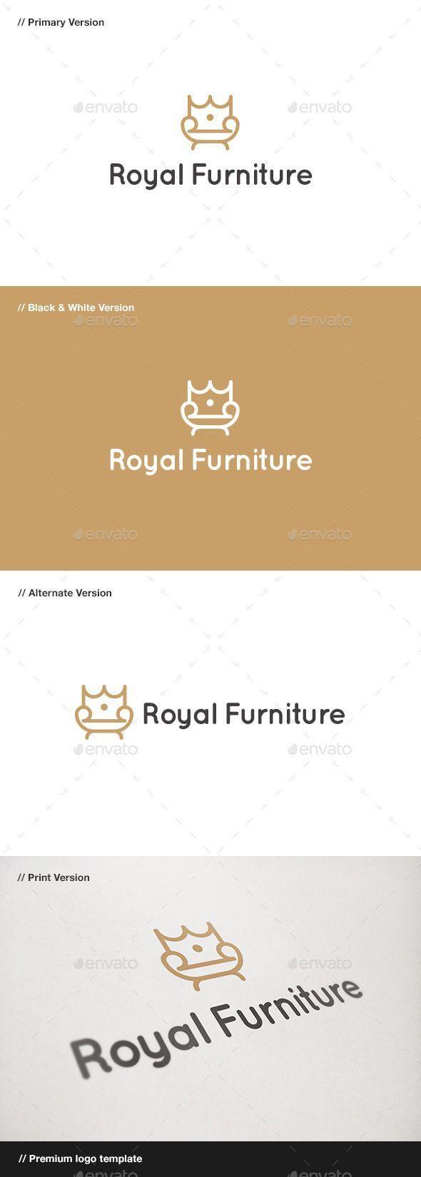 King Chair Available Here Graphicr Chair Eps Furniture Furniturelogo Graphicr King Logo R Logo Tasarimi Web Tasarim Kurumsal Kimlik