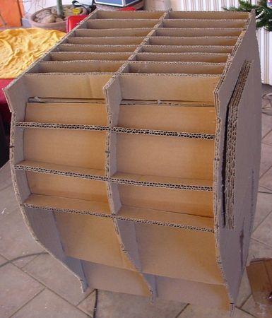 tuto de meubles en carton r f rences pinterest cardboard furniture cardboard crafts and. Black Bedroom Furniture Sets. Home Design Ideas