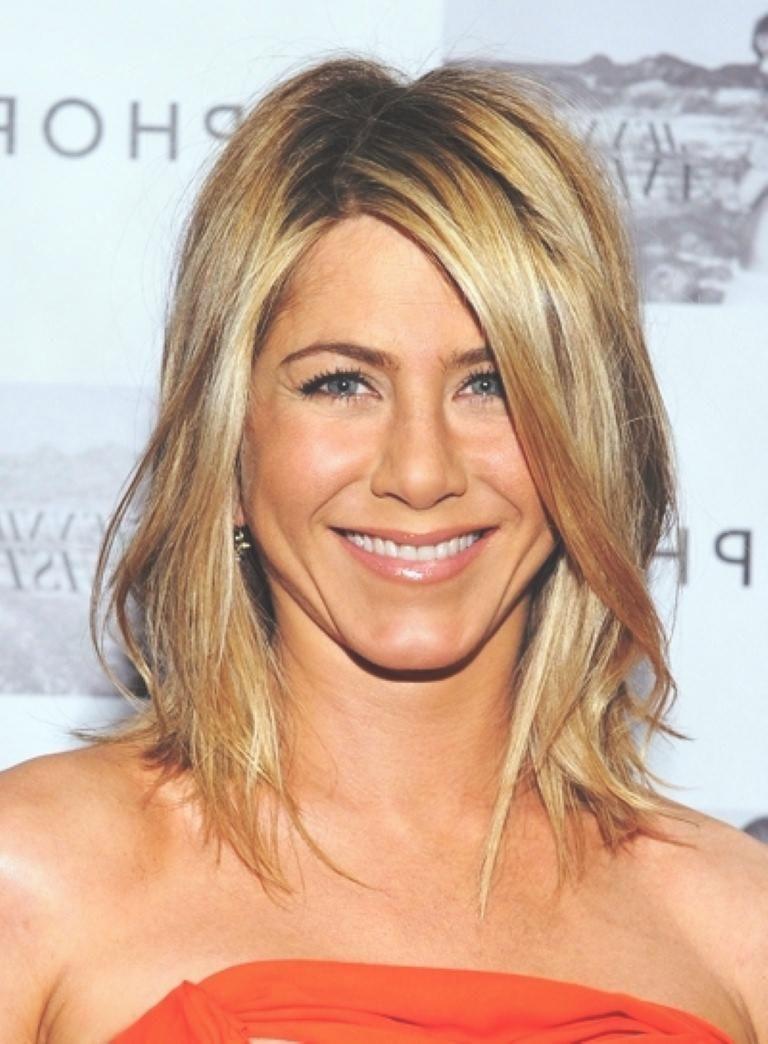 Jennifer Aniston Frisuren Bilder Frauen Haare Hair Long Hair