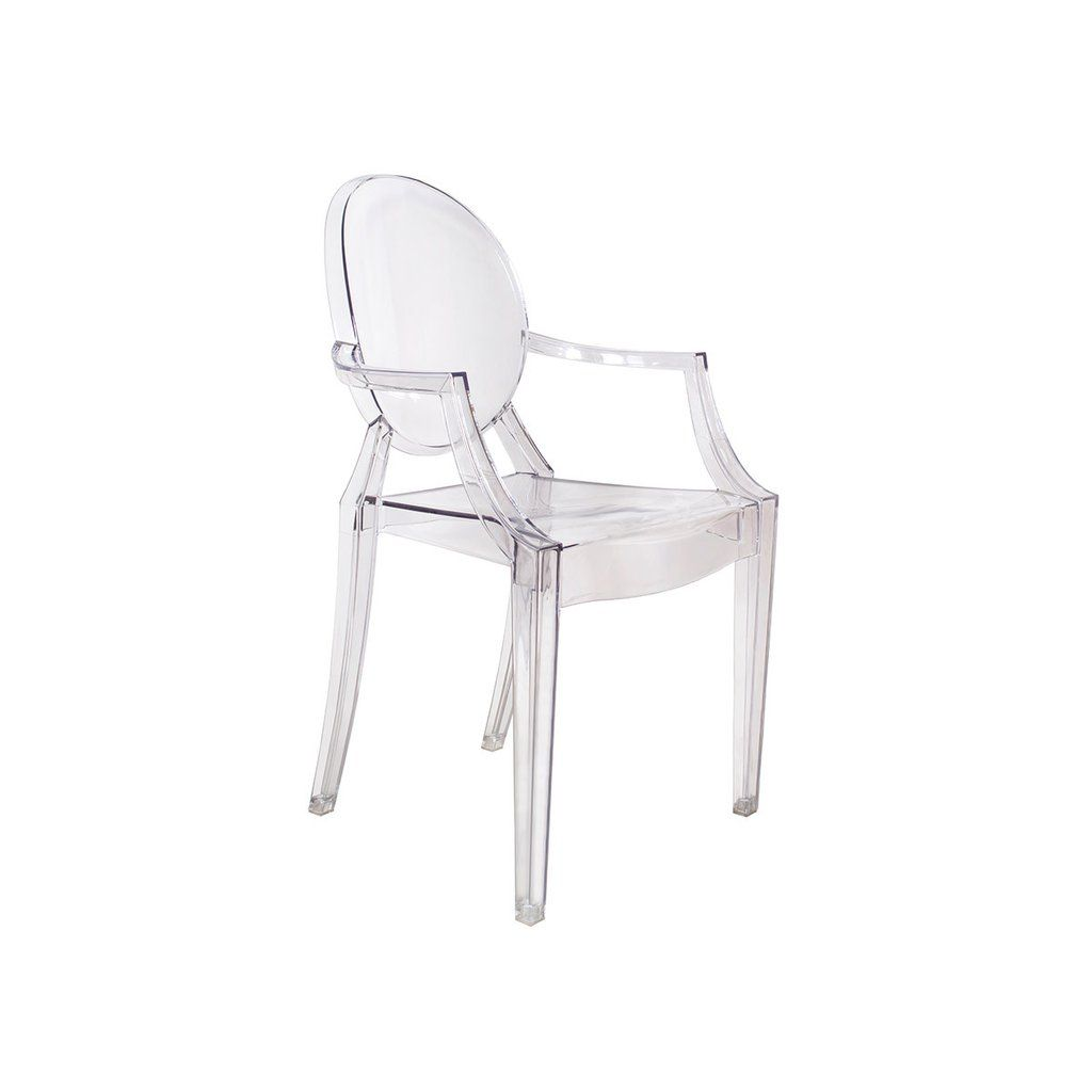 Ghost Chair Replica Wooden Cushion Set Louis Xvi Armchair Of 2 Clear Ships August 3rd