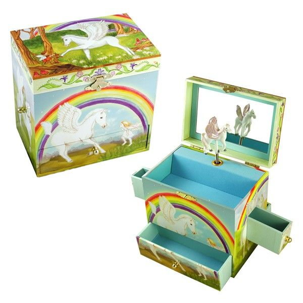 Horse Jewelry Box Musical Jewellery Box  Pegasus  Available Now On Becky & Lolo