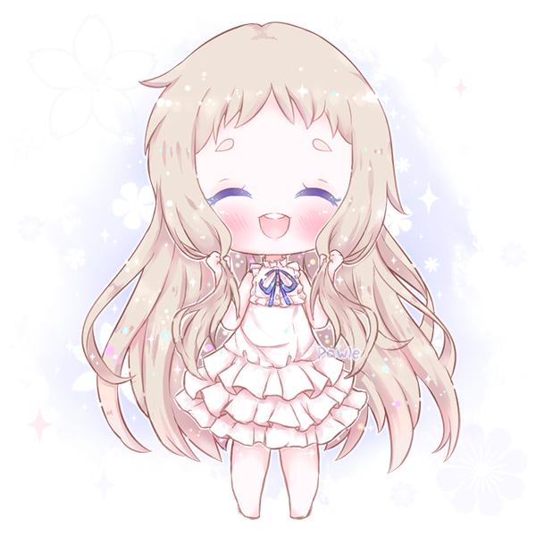Fa Flowery Smile By Lilpawie Deviantart Com On Deviantart Chibi Anime Art Beautiful Anime Chibi