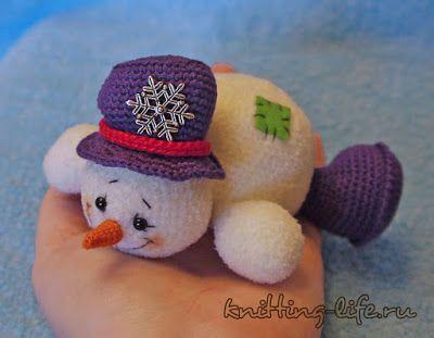 Amigurumi Snowman : Amigurumi snowman free pattern amigurumi free patterns