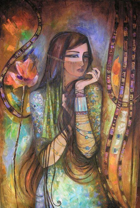 الفنانة التشكيلية لميس الحموي عالم نوح Lovers Art Egyptian Art Palestine Art