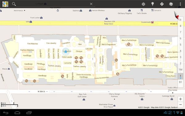 Google Maps 6 0 hits Android, adds indoor navigation for retail and
