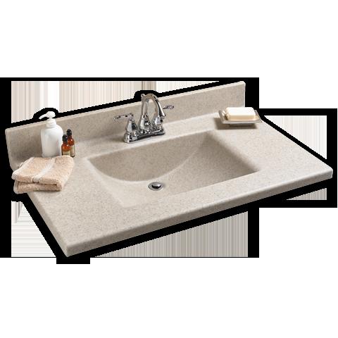 Silkstone Rectangular Bowl Vanity Top Vanity Top Rectangular Sink Bathroom Vanity