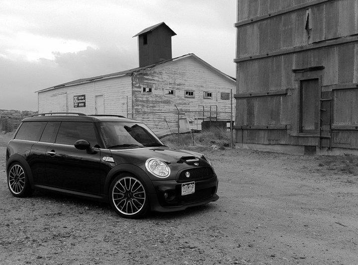 Mini Cooper Clubman All Black Black Edition Bmw My Ride Mini