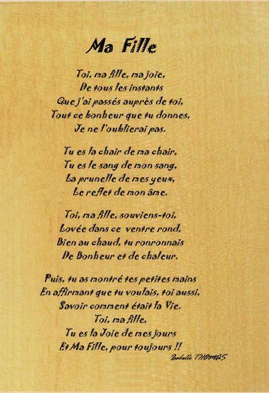 Poeme Pour Ma Belle Fille : poeme, belle, fille, Poeme, D'anniversaire, Fille, Recherche, Persos, Pinterest