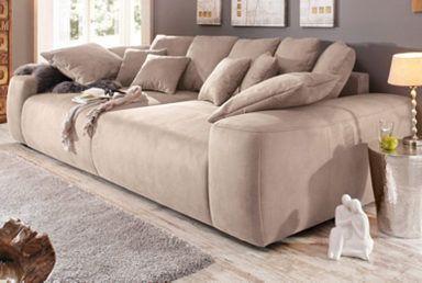 Home Affaire Big Sofa Breite 302 Cm Lounge Sofa Mit Vielen Losen Kissen Online Kaufen Otto Couches Living Room Comfy Comfy Sofa Living Rooms Big Couch