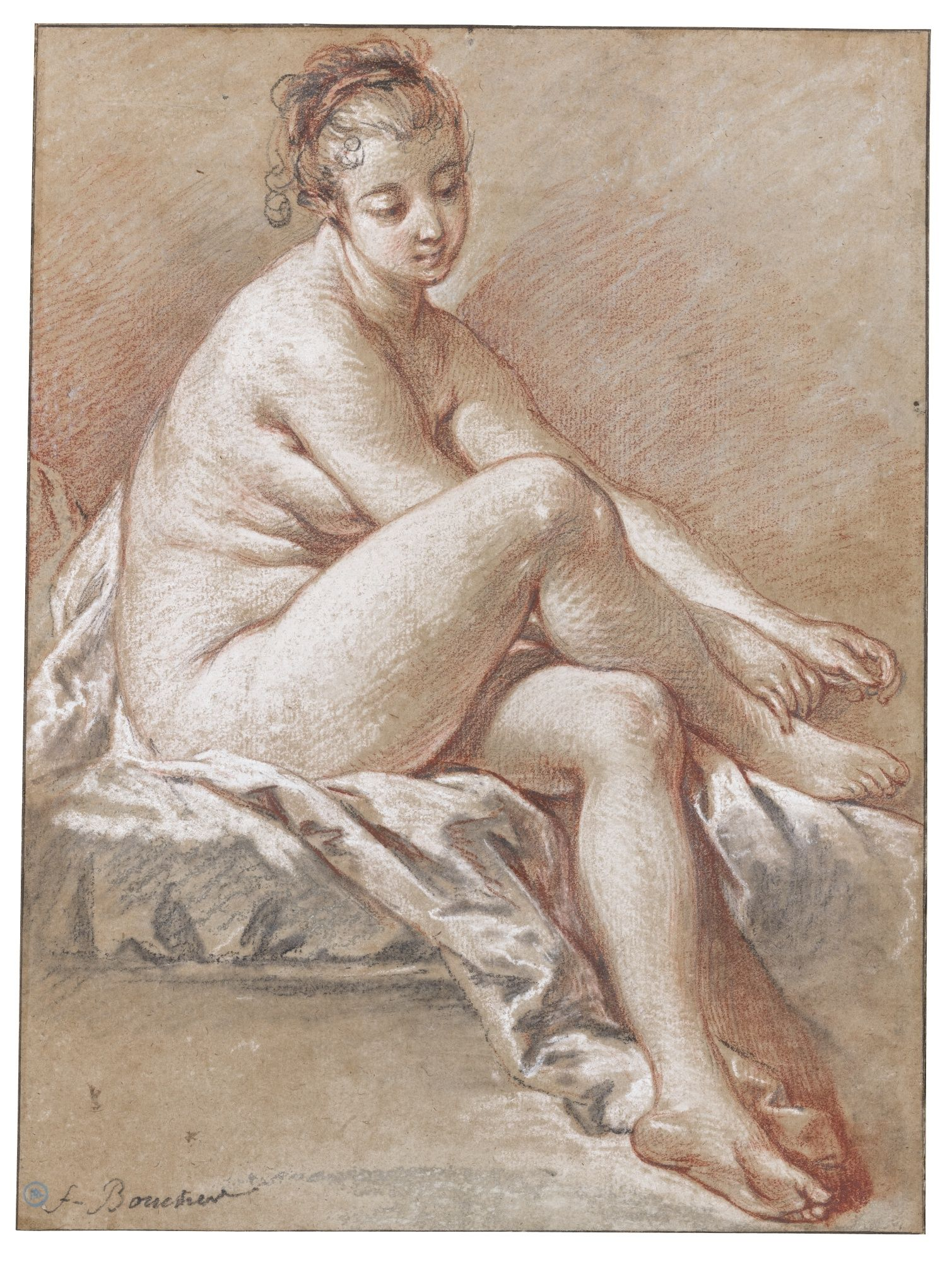 Study Of A Nude 42