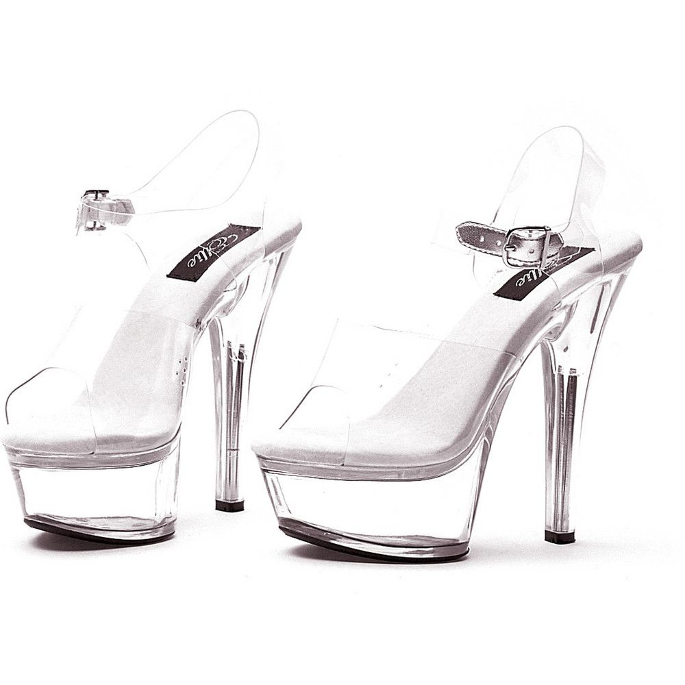 89d5b175d38 Brook-Clear-Adult-Shoes-shoes-glass-slippers-cinderella-platform. Ellie  Shoes Women s 601 Brook Platform Sandal Clear High Heels ...