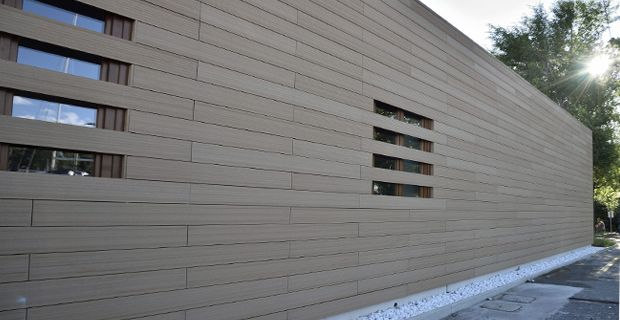 Eco Friendly Wpc Wall Panel Composite Exterior Wall Panels Wood Plastic Gartengestaltung Wand