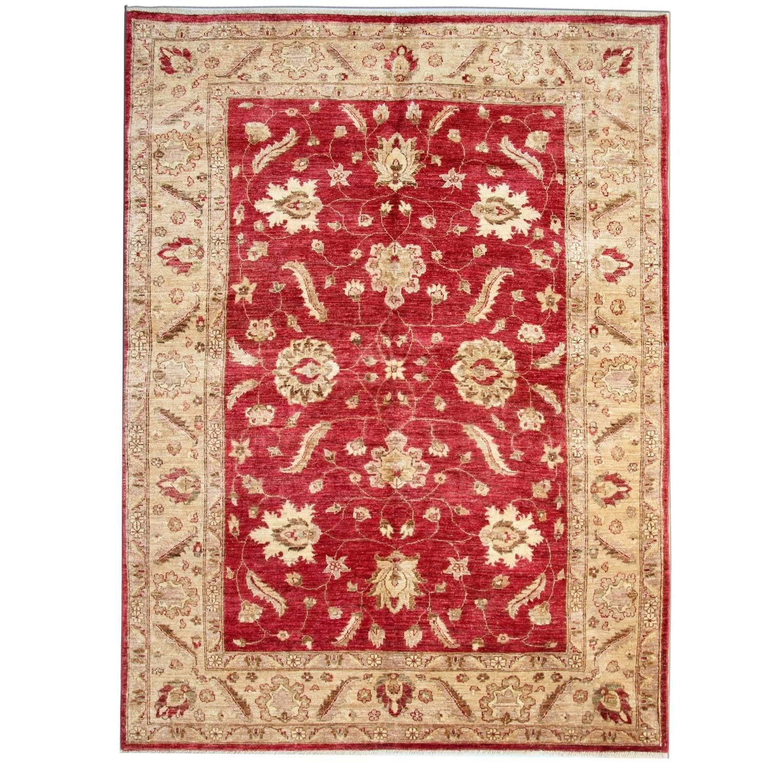 Red Oriental Rug Hand Made Carpet Living Room Rugs Red Oriental Rug Persian Style Rug Modern Persian Rug