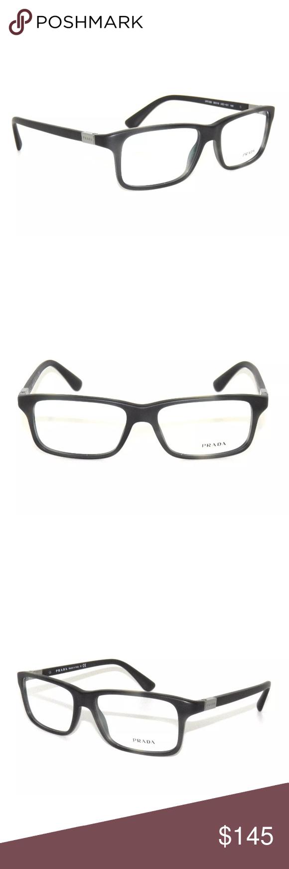 c08055742a38 PRADA White Havana on Black Eyeglasses 06S New Authentic Comes with Prada  case Prada Accessories Glasses