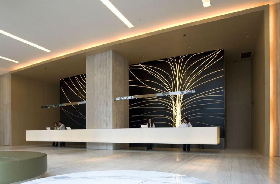 Front Desk Hotel Lobby Design Lobby Design Reception Desk Design