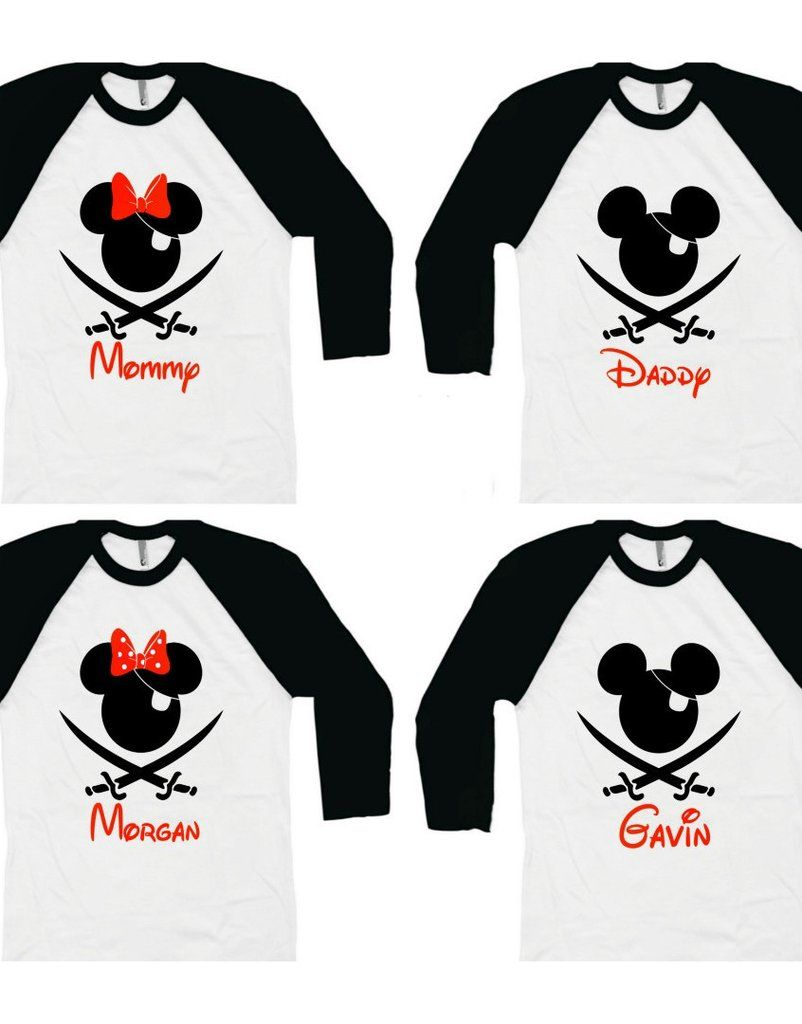 f11c3cd2a3 Love these for Pirate night on a Disney Cruise Vacation!! Family Disney  Cruise Shirt - Pirate Night (Baby - Adult)