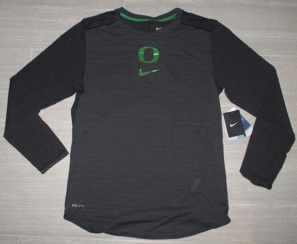 New Nike Dri Fit Oregon Ducks Long Sleeve Velocity Training Shirt Xl Fashion Clothing Shoes Acces Shooting Shirts Long Sleeve Tshirt Men Performance Shirts [ 823 x 1000 Pixel ]