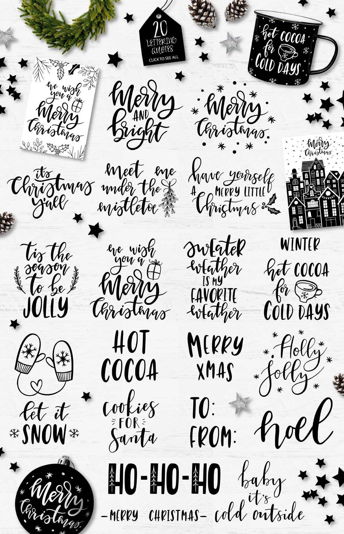Christmas clipart / Christmas overlays / Christmas clip art / | Etsy