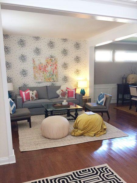 Living Room Poufs Honeyandfitzlast10Percentpoufsinprogress  Decorating Tips
