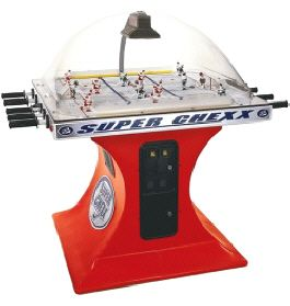Super Chexx Super Chex Dome Hockey Table Bubble Hockey Game Rod Hockey Machine From Ice Games Air Hockey Arcade Room Game Room