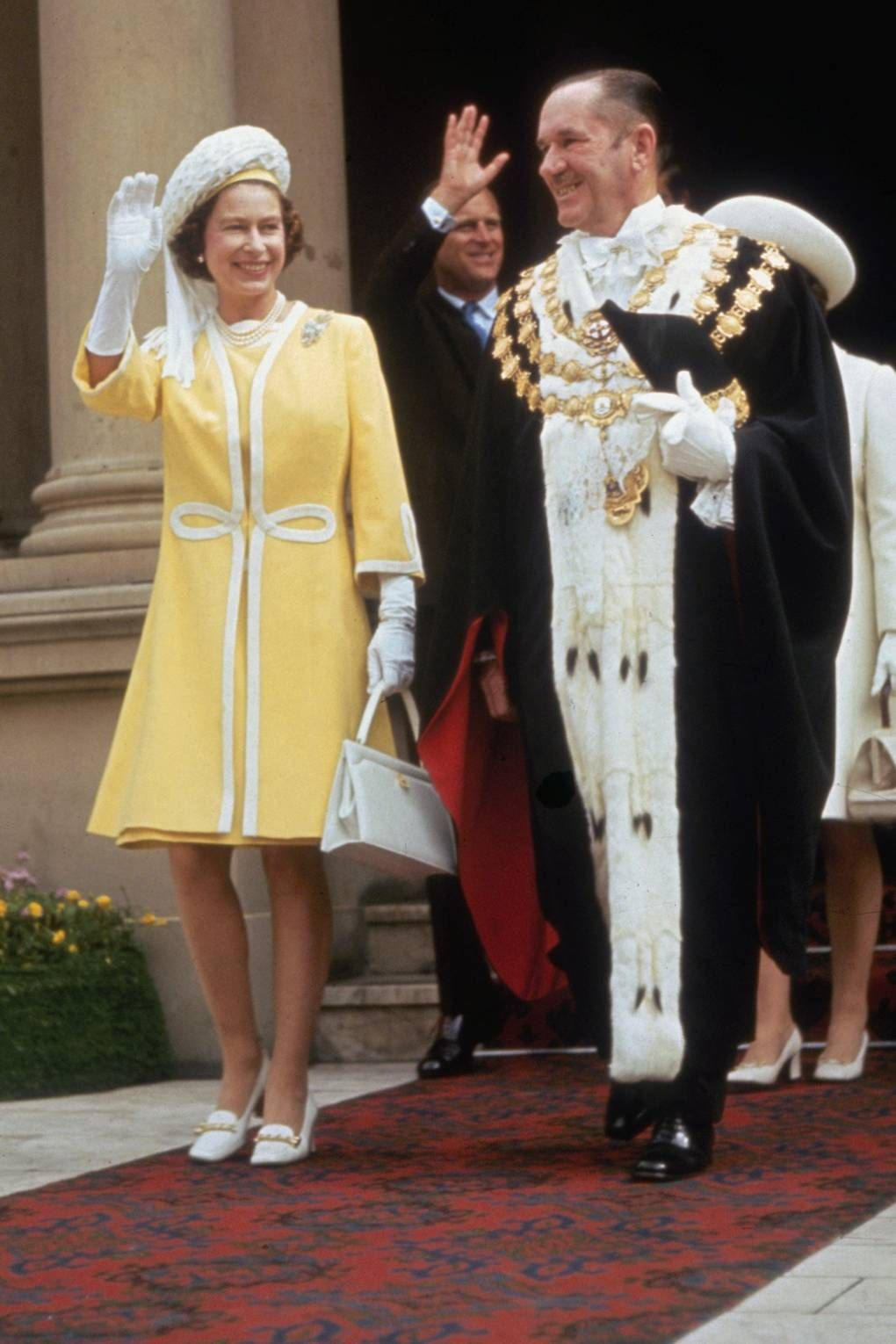 Image result for queen elizabeth ii 1970s commonwealth tour
