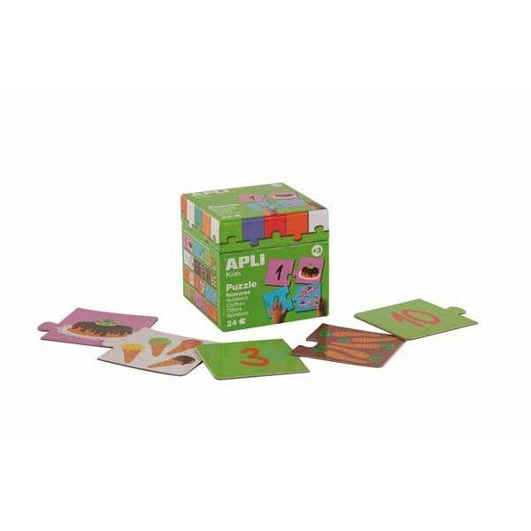 Comprar Apli Puzzle Kid´s Educativos, Los Números Apli 13186 #materialescolar #rompecabezas #escolar #casa #infantil #preescolar #dibujos