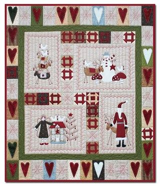 Scandinavian Christmas Quilt Kit By Lynette Anderson Designs Christmas Quilt Patterns Quilt Patterns Quilts