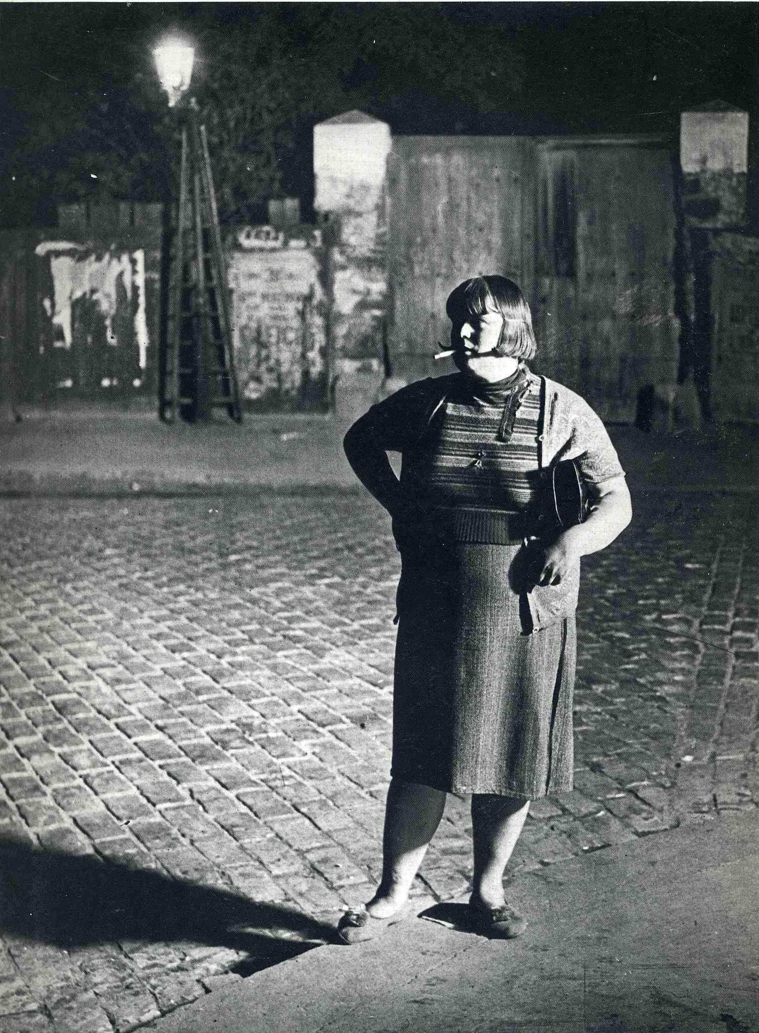 Digital Photograph Parisian Streetwalker Masters of Photography Eugene Atget