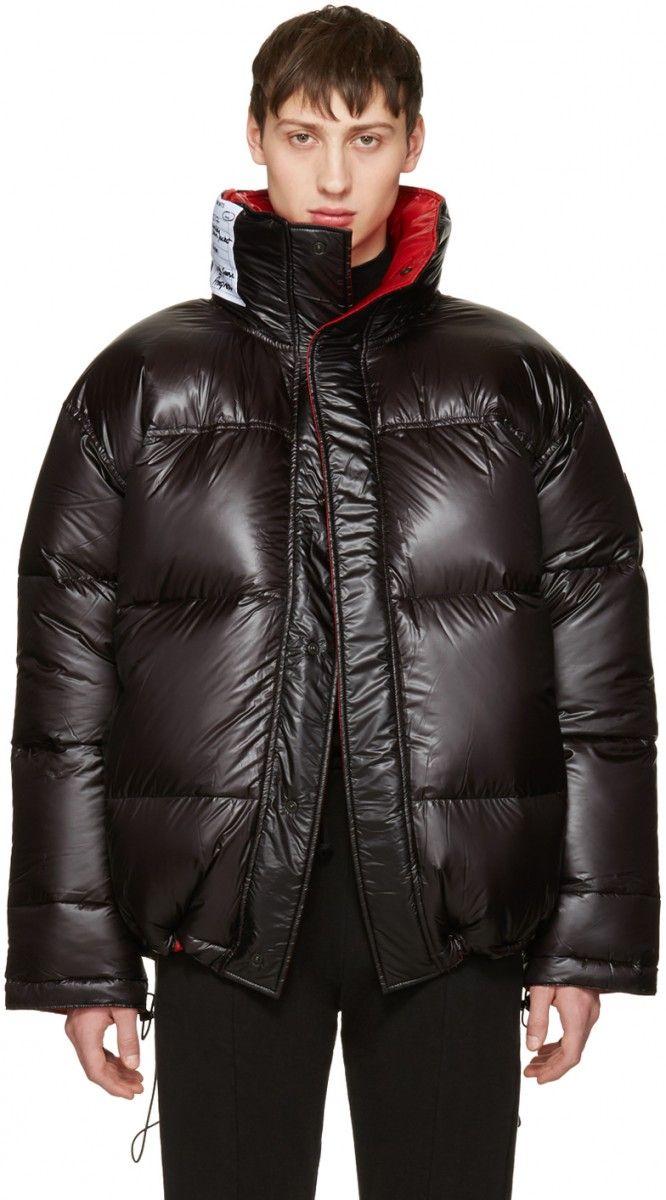 black canada goose bubble jacket
