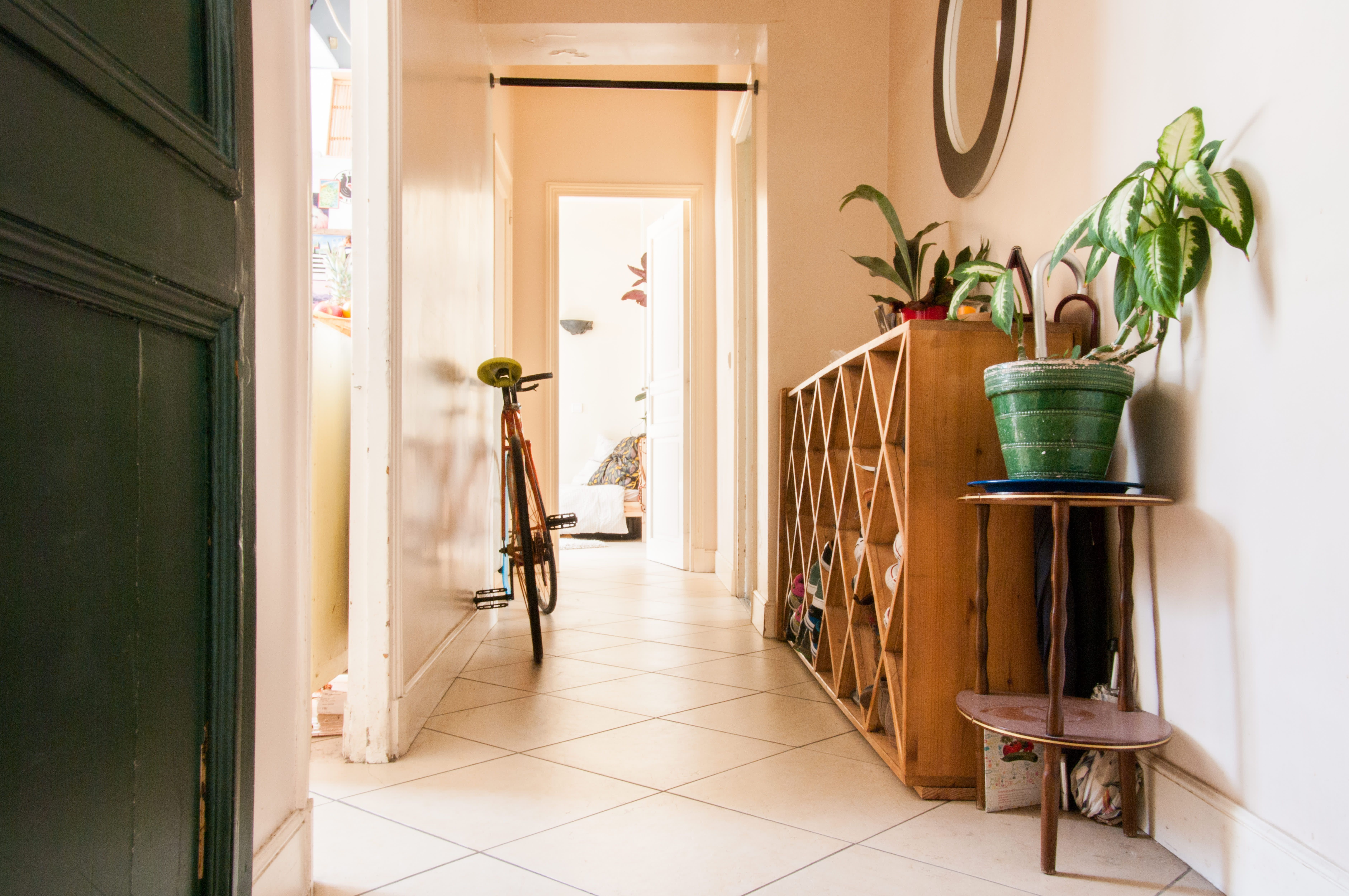 This Plant-Filled Parisian Apartment Is Enviably Bohemian ...