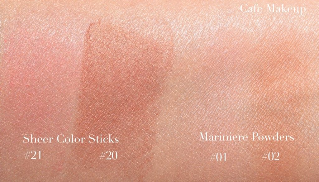 c8ffed942303 Chanel les beiges swatches