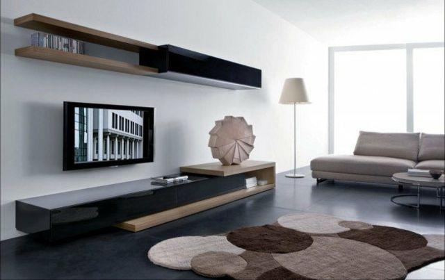 79 idées déco salon très intéressantes et modernes pour vous ... - Meuble Salon Contemporain Design